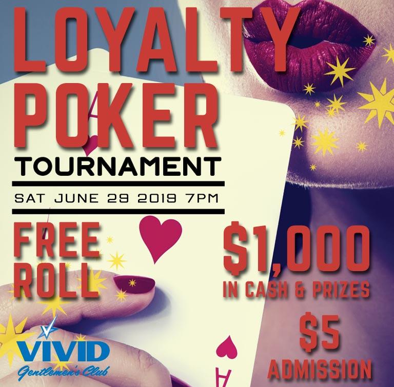 Loyalty Poker Tournament